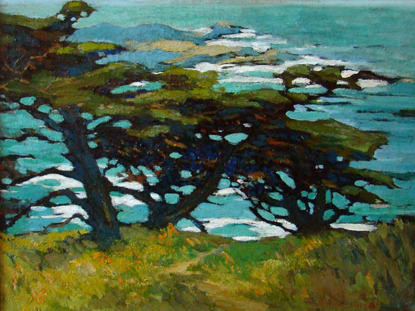 Mary DeNeale Morgan - Three Cypresses